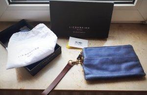 Clutch Liebeskind Berlin blaue Tasche