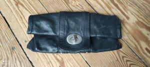 Clutch Liebeskind faltbar schwarzes Leder