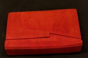 Clutch von Gianni Versace in rot