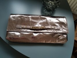 Liebeskind Clutch silver-colored-rose-gold-coloured leather