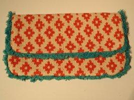 Clutch multicolored cotton