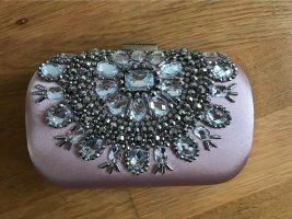 True Decadence Bolso de mano color plata-rosa claro