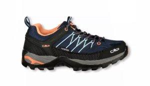CMP Zapatos de marinero azul oscuro
