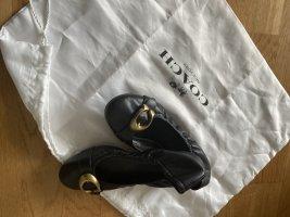 Coach Classic Ballet Flats black leather