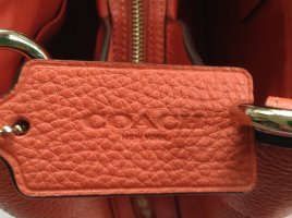 Coach Handbag salmon leather