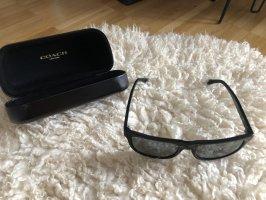 Coach Gafas de sol ovaladas negro