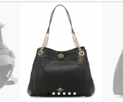 Coach Handbag black leather
