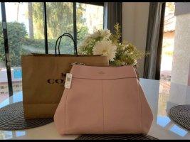 Coach Handbag light pink-pink leather