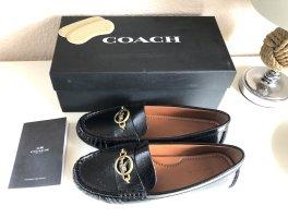 Coach Mocassins zwart-goud
