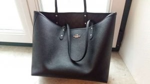 Coach Borsa shopper nero-marrone