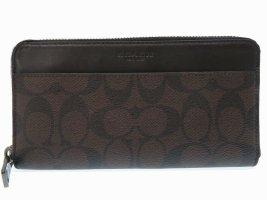 Coach Signature zip purse