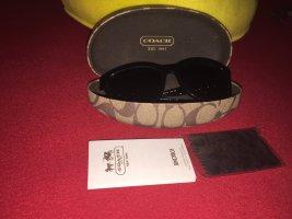 Coach Okulary przeciwsłoneczne czarny-srebrny