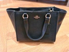 Coach Tasche schwarz / Leder glatt