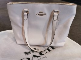 Coach Tasche Shopper Creme