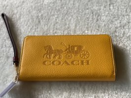 Coach yellow Wallet