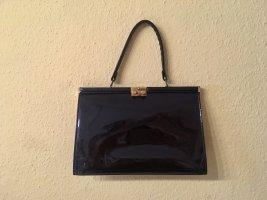 Cobra Modell Vintage Lacktasche / Handtasche, 30x20 cm