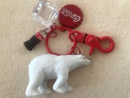 Key Chain white-red