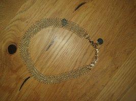 Coccinelle Choker Halskette goldfarben