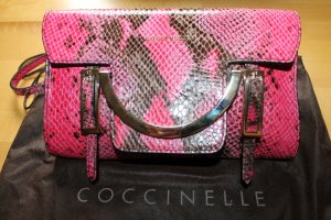 "Coccinelle Crossbody ""Celeste"" pink Snake; neu mit Staubbeutel"