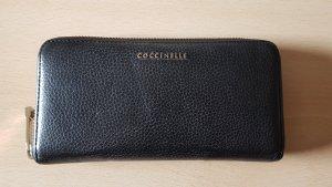 Coccinelle Geldbörse aus Leder schwarz