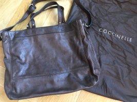 Coccinelle Handtasche/Shopper braun - nie getragen