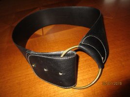 Coccinelle Leather Belt black leather