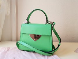 Coccinelle Crossbody bag lime-green leather