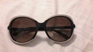 Chanel Occhiale da sole ovale nero