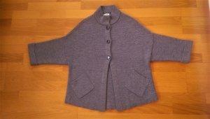 Cocogio Cardigan in maglia argento-grigio