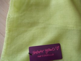 Codello Schal hellgelb-grün - Viskose