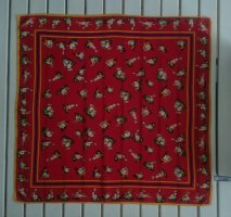Codello Silk Cloth red silk