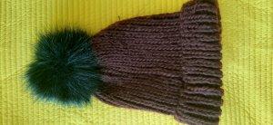Codello Sombrero de punto marrón