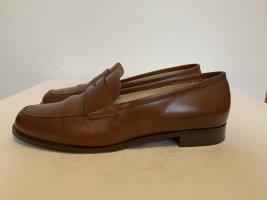 Manfield Slip-on cognac cuir