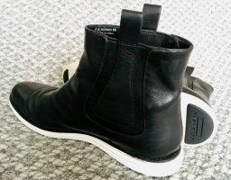 Cole Haan Boots black-white leather