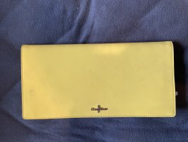 Cole Haan Clutch yellow-silver-colored