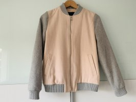 New Look College Jacket pink-light grey