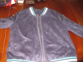 grand prix College Jacket blue cotton