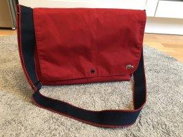 Lacoste College Bag dark red