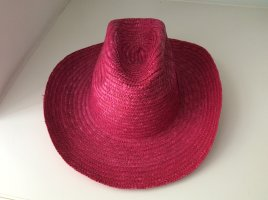 Chapeau de cow-boy rose