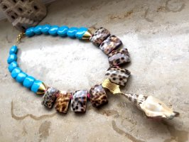 KCD Katecreativedesign Shell Necklace multicolored