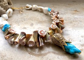 KCD Katecreativdesign Shell Necklace multicolored