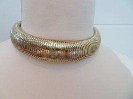 Uterqüe Collar estilo collier color oro
