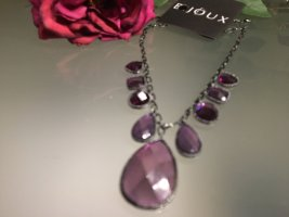 Bijoux Collier Necklace mauve