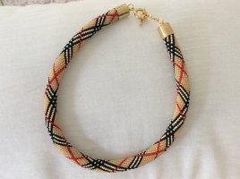 Collier Necklace multicolored glas