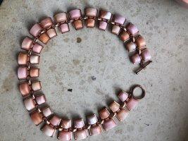 Naszyjnik w kolorze różowego złota-różany