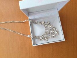 Bijou Brigitte Collier Necklace silver-colored