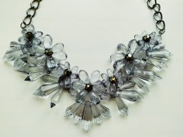 Collier Necklace light grey
