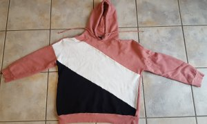 H&M Divided Hooded Sweater multicolored cotton