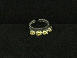 Konplott Statement Ring yellow metal