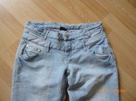 Colours of the World Jeans a zampa d'elefante multicolore Cotone